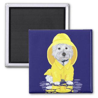 Aimant Douches d'avril de chien de Westie
