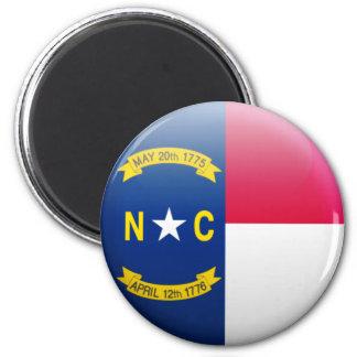 Aimant Drapeau de la Caroline du Nord