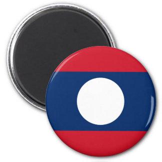 Aimant Drapeau des Laotiens - drapeau laotien - ທຸງຊາດລາວ