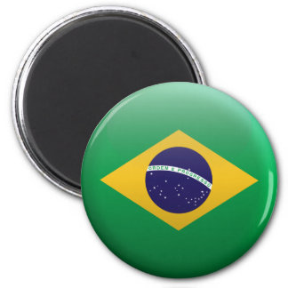 Aimant Drapeau du Brésil