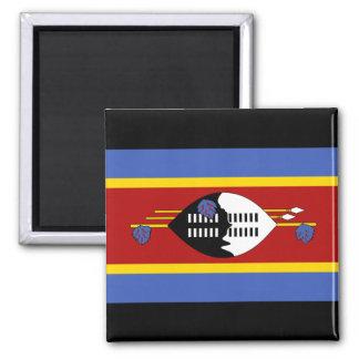 Aimant Drapeau national du monde du Souaziland