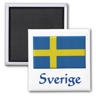 Aimant Drapeau suédois Sverige