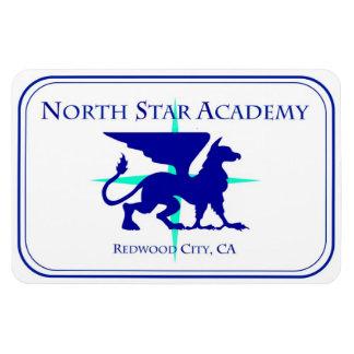 Aimant du nord de voiture de Star Academy Magnets En Vinyle