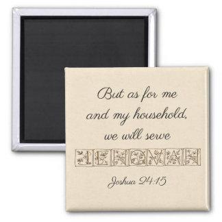 Aimant Écriture sainte Magnet~Gold de Jéhovah de service…
