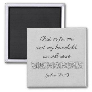 Aimant Écriture sainte Magnet~Silver de Jéhovah de