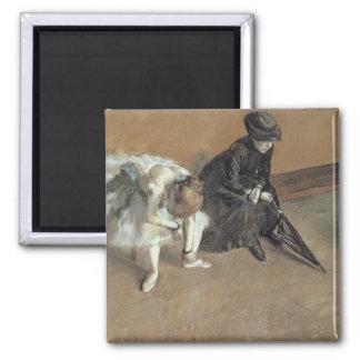 Aimant Edgar Degas | attendant, c.1882