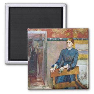 Aimant Edgar Degas | Helene Rouart dans l'étude de son
