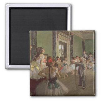 Aimant Edgar Degas | la classe de danse, c.1873-76