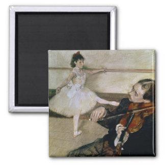 Aimant Edgar Degas | la leçon de danse, c.1879