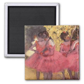 Aimant Edgar Degas l'aimant rose de danseurs