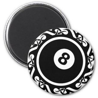 Aimant eightball tribal