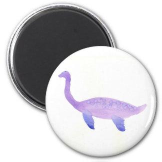 Aimant Elasmosaurus pourpre