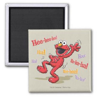 Aimant Elmo vintage Hee-hee !