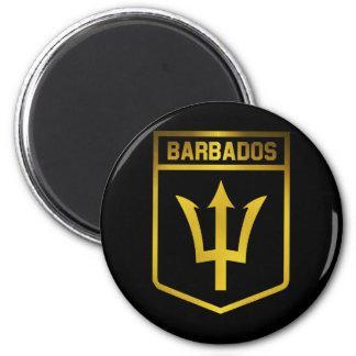 Aimant Emblème des Barbade