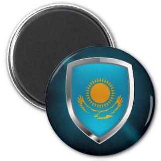 Aimant Emblème métallique de Kazakhstan