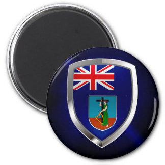 Aimant Emblème métallique de Montserrat