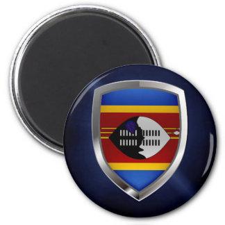 Aimant Emblème métallique du Souaziland