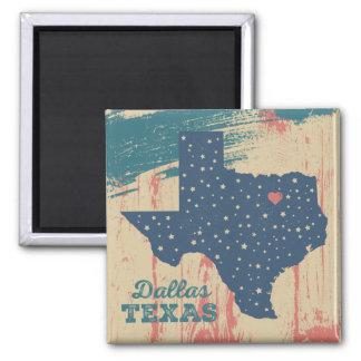 Aimant en bois affligé - Dallas le Texas