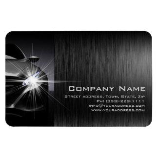 Aimant en métal de Black Car Automotive Company Magnet Rectangulaire Avec Photo