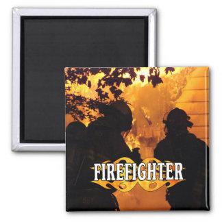 Aimant Équipe de sapeur-pompier