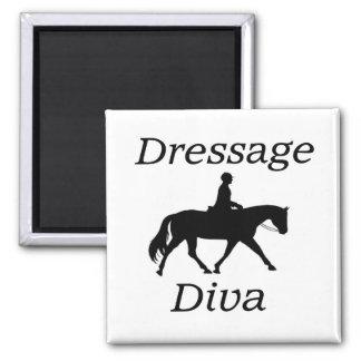 Aimant Équitation de diva de dressage