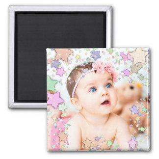 Aimant étoilé de photo de bébé