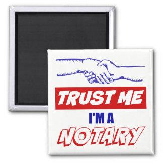 Aimant Faites- confiancemoi, je suis une grande poignée