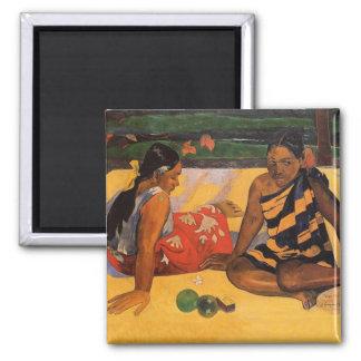 Aimant Femmes du Tahiti de Polynésie française de Gauguin