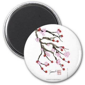 Aimant fleurs de cerisier 10 Fernandes élégant
