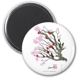 Aimant fleurs de cerisier 11 Fernandes élégant