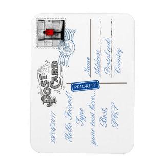 Aimant flexible de photo de postérieur de carte magnet flexible
