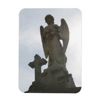 Aimant flexible de photo - statue et croix d'ange magnet flexible