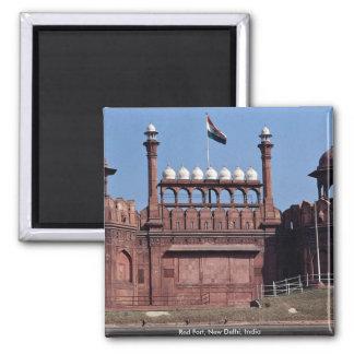 Aimant Fort rouge, New Delhi, Inde