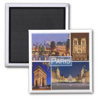 Aimant Franc * La France - Paris