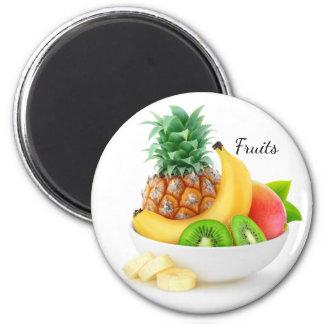 Aimant Fruits tropicaux dans une cuvette