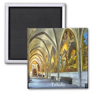 Aimant Galerie de Cloatre avec des fresques de St Mary