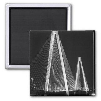 Aimant Gamme de gris de pont de vétérans de Stan Musial