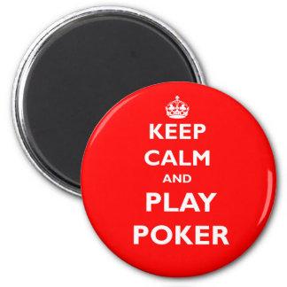 Aimant gardez le casino des anglais de symbole de