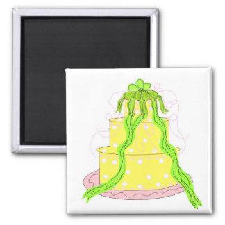 Aimant Gâteau de citron de concepteur