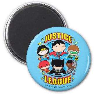 Aimant Groupe de ligue de justice de Chibi