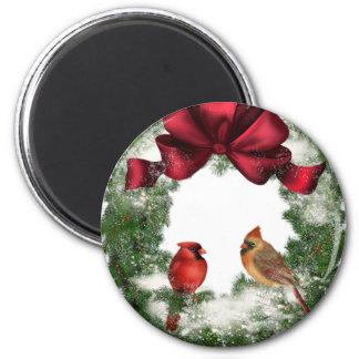 Aimant Guirlande vintage de Noël