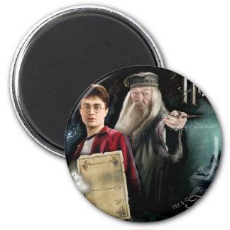 Aimant Harry Potter et Dumbledore