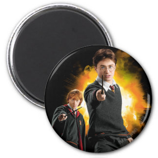 Aimant Harry Potter et Ron Weasely