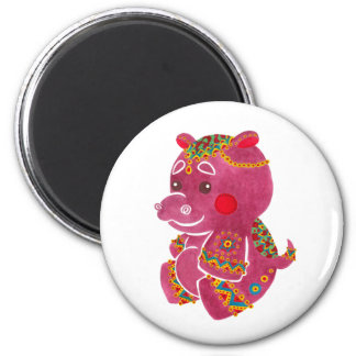 Aimant Hippopotame de bébé