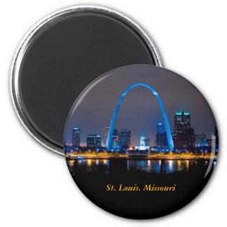 Aimant Horizon de St Louis à l'aimant de nuit