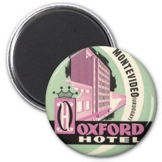 Aimant Hôtel d'Oxford, Montevideo, Uruguay, voyage