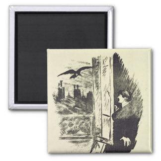 Aimant Illustration de Manet | pour 'le Raven