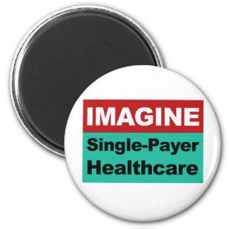 Aimant Imaginez les soins de santé simples de débiteur