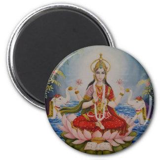 Aimant indou de déesse de Lakshmi