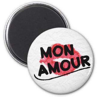 Aimant Intrigue amoureuse de lundi mon baiser rouge de
